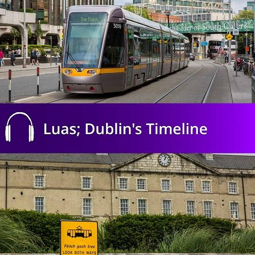 Cover of Luas audio guide