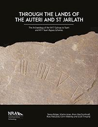 Cover of book entitled Through the Lands of the Auteri and St Jarlath