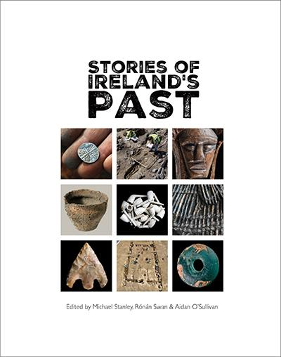 Front cover of book entitled Stories of Ireland's Past
