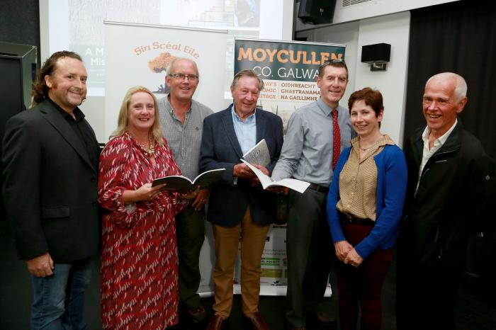 Photo of attendees at formal launch of new book A Moycullen Miscellany
