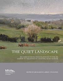 Cover of book entitled The Quiet Landscape