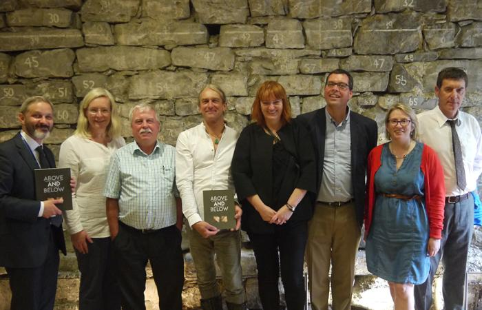 Photo of the editor and some of the contributing authors. Left to right: Michael Stanley (editor), Dr Meriel McClatchie, Noel Dunne, Graham Hull, Dr Maria FitzGerald, James Eogan, Emer Dennehy and Jerry O'Sullivan.